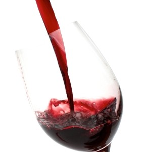 wine, red, pour, glass, dinner, party, action