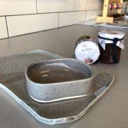 Ceramic dip trays and Fig jam!