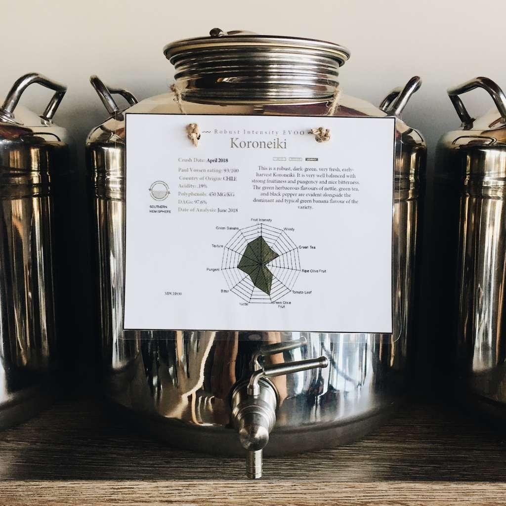 Koroneiki Extra-Virgin Olive Oil at Frescolio.